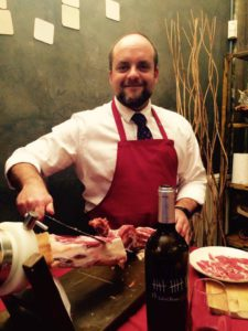 luis-jamon-and-wine